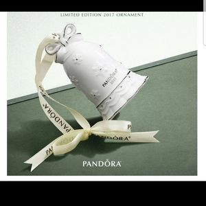 Pandora Limited Edition Bell Christmas Ornaments
